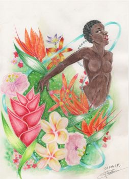 Souvenir from Martinique by Swanhilde