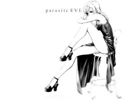 Parasite Eve black and white by ToraAkuma