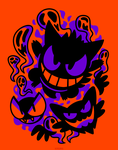 Ghastly Haunting Ghouls (T-Shirt) by Versiris