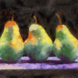 Cezanne Pears by diverse-norm