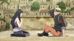 Naruto And Hinata Cute Moment by weissdrum