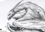 Cat-Dragon - FOR SALE by Melckia