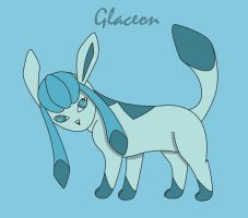 Glaceon by DrentaiWolf