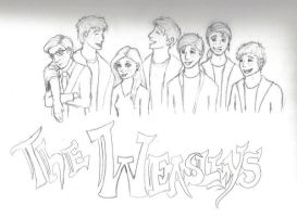 The Weasleys by oddact