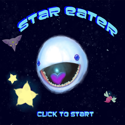 Star Eater Title Screen by DreamKeeperArts