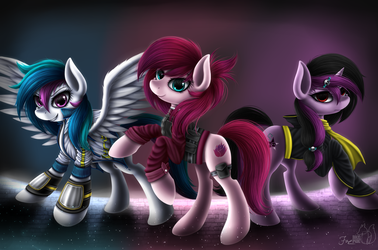 New Light Family [v2] by HoodieFoxy