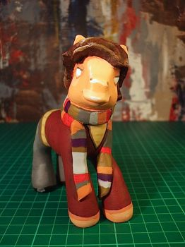 My Little Pony - Tom Baker the fourth Doctor by SixHawks