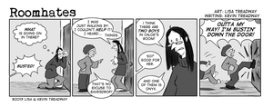 Roomhates #76 by ltread