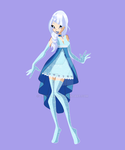 [CT] FrozenTale - Snowella Enchantix by Lady-Shade