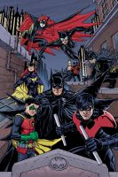 The Bat Family by craigcermak