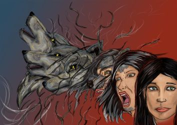 werewolf -Transformation by Loup-sauvage