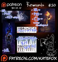 Patreon rewards #50 by Kate-FoX