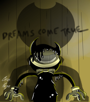 Re Animated Demon (Bendy And The Ink Machine) by CircusFacza