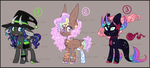 Pony Adoptable Batch 18 - OPEN - 3/3 - Points/PP by Tinuleaf-Adopts