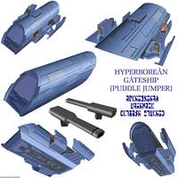 Hyperborean Gateship 1 by Chiletrek