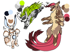 Collab adopts! (1/3 OPEN) by Perma-Fox