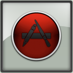 App Store in Red by ThEPaiN321