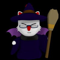 Moogle Witch by SiverCat