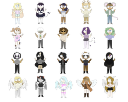 Free Adopts! (CLOSED) by Vookster