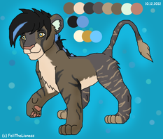 Cub design - contest entry by M-WingedLioness