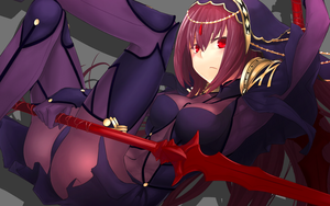 Scathach by ipaanbaa