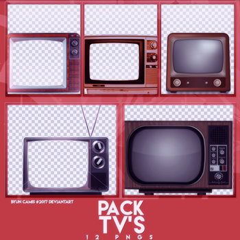 PACK PNGS: TV'S| ByunCamis by ByunCamis
