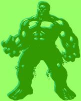 The Hulk Pop Art by DevintheCool