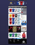Gamers Apparel Website by shadow2511