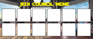Jedi Council Meme by MarioFanProductions