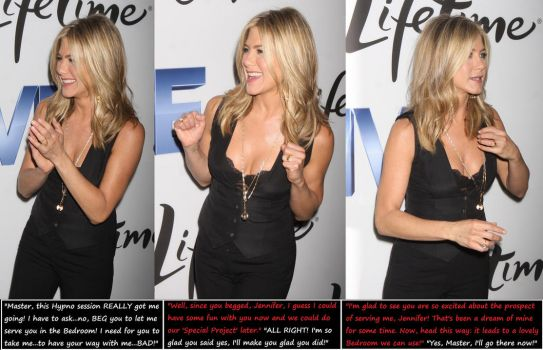 Jennifer Aniston: Further Conditioned! (1) by HypnoHunter