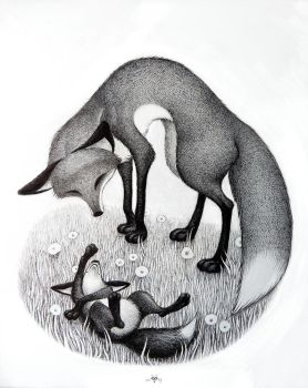 Mother Fox by nik159