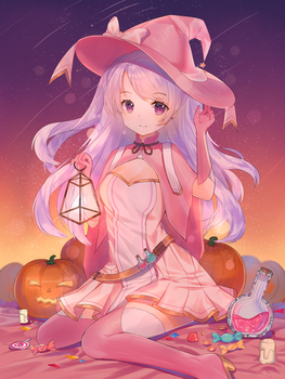 Candy Witch by ateliercienne