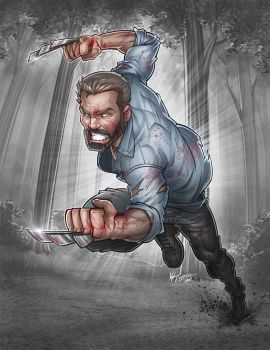 Old Man Logan by kpetchock