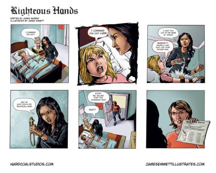 Righteous Hands web comic #1 by jemurr