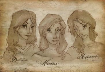 The Black Sisters by relashio