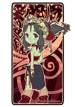 Floral Chib by Electrosion