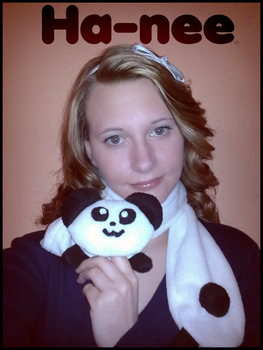 Me and my Panda scarve by Ha-nee