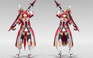 [MMD-Elsword] Elesis Grand Master DOWNLOAD! by Darknessmagician