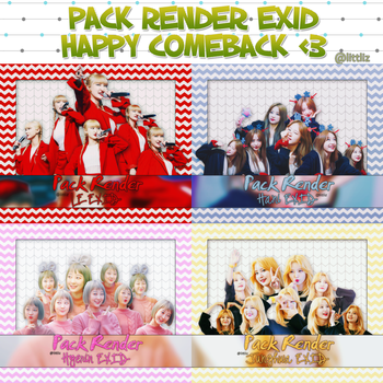 PACK RENDER EXID - HAPPY COMEBACK by Littliz
