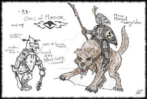 Third age Orcs by crimson-galley