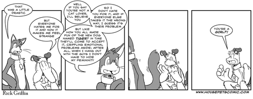Housepets: Curveball by RickGriffin