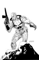 Deathlok by BearClawStudios