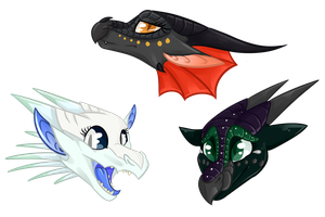 Shiny Headshot Gifts by MythiCreature
