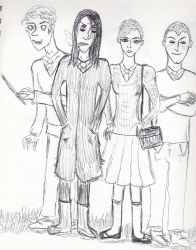 your precious death eater friends by harmonicfriction