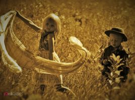 Angels N Cowboys by LiveArtBreatheArt