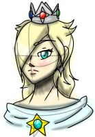Trying to draw Rosalina by TheCreator2009
