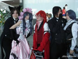 Bassy, Bocchan, and Grell . . . oh my! by HikazePrincess