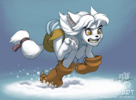 Dart on the hunt by thelaserhawk