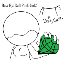 sonic boy and girl base by Daft-punk-girl2