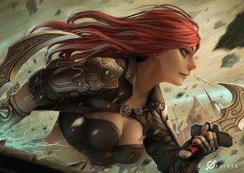 Katarina by Arcanedist